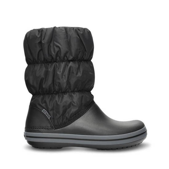 BOTY CROCS WINTER PUFF 14614 BLACK