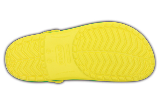 FLIP CROCSCROCBAND 11016 LEMON/GRASS GREEN