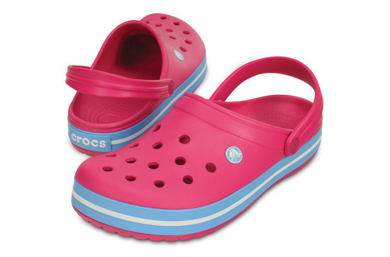 WOMEN'S SHOES FLIP-FLOPS CROCS CROCBAND 11016 CANDY PINK