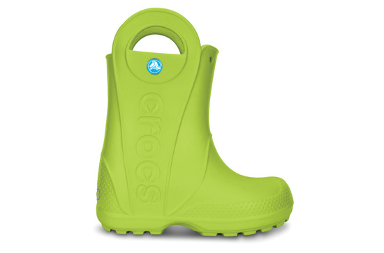 CROCS SHOES WELLINGTONS HANDLE IT RAIN GREEN 12803