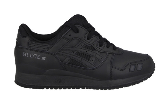 MEN'S SHOES ASICS GEL-LYTE III BLACK WHITE PACK H534L 9090