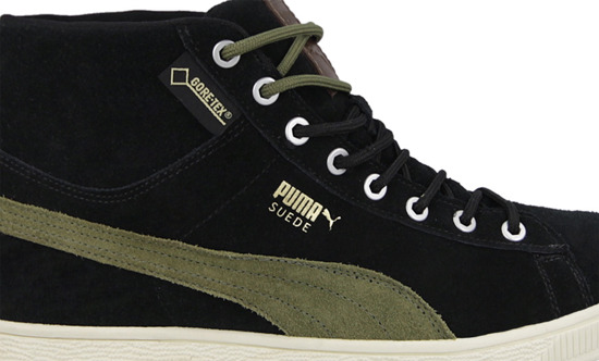 MEN'S SHOES PUMA SUEDE CLASSIC+ MID GORE-TEX 357043 02