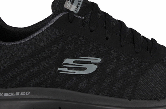 MEN'S SHOES SKECHERS FLEX ADVANTAGE 52182 BBK