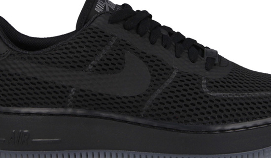 WOMEN'S SHOES NIKE AIR FORCE1 LOW UPSTEP BREATHE 833123 001