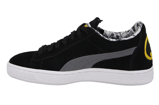 WOMEN'S SHOES PUMA SUEDE BATMAN JR 361254 01