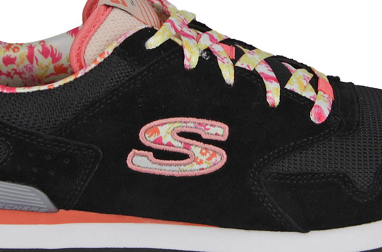 WOMEN'S SHOES SKECHERS RETROSPECT 84201L BKMT