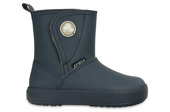 CROCS SHOES SNOW BOOTS COLORLITE BOOT 15840 NAVY