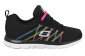 WOMEN'S SHOES SKECHERS FLEX 11885 BKMT