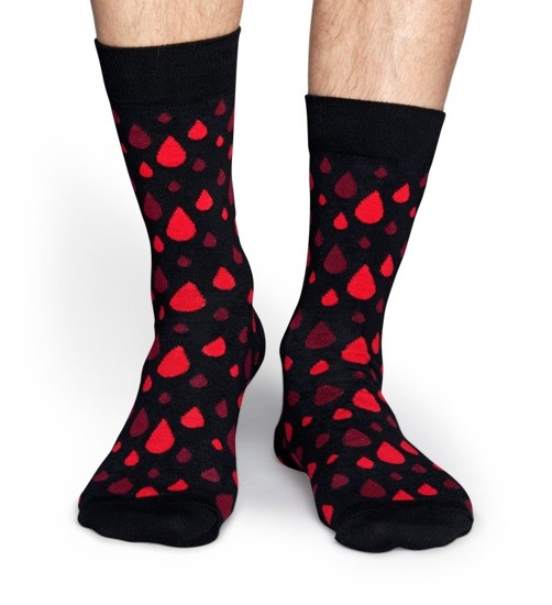 SOCKEN HAPPY SOCKS RRDB01 9000