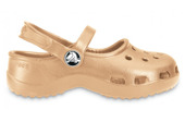 DAMEN SCHUHE SANDALEN CROCS MARY JANE 10034 GOLD