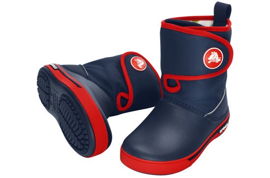 BUTY CROCS GUST BOOT 12905 NAVY/RED
