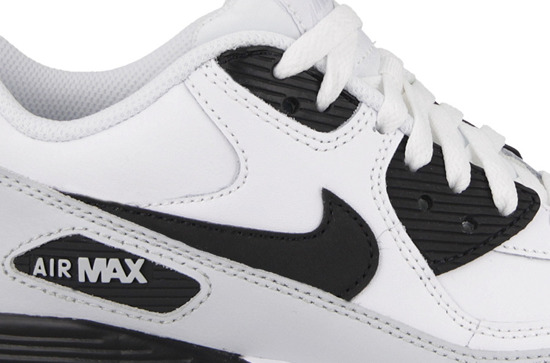 BUTY NIKE AIR MAX 90 LEATHER (GS) 833412 104