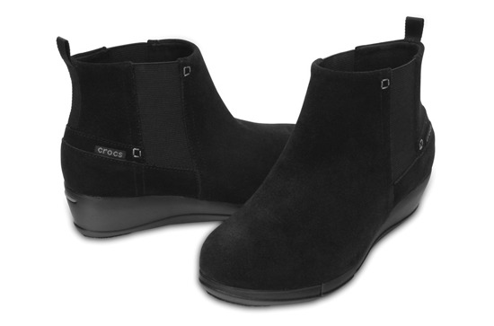 CROCS STRETCH SOLE WEDGE BOOTIE W 200881