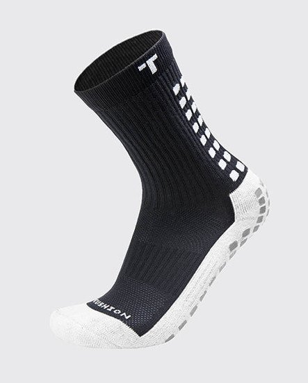 SKARPETY PIŁKARSKIE TRUSOX MID CUSHION BLACK