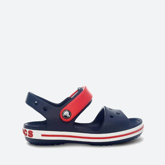 Sandałki Crocs Crocband Kids 12856 NAVY/RED