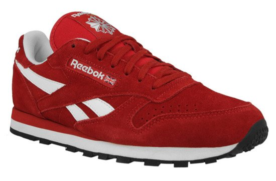 BUTY REEBOK CL LEATHER SUEDE M46010