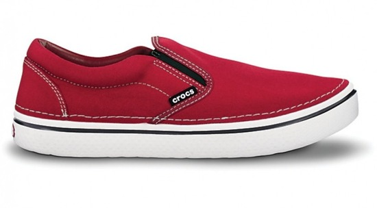 11291 TRUE RED/WHITE HOVER SLIP ON -80%