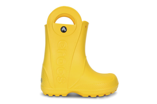 HOLÍNKY CROCS HANDLE RAIN BOOT 12803 YELLOW