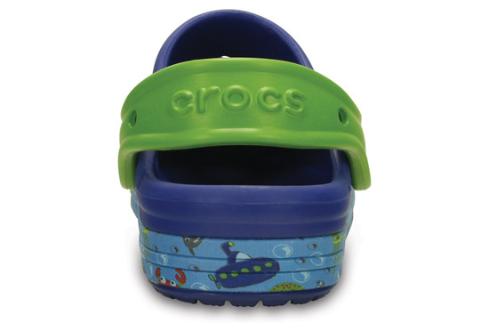 CHILDREN'S SHOES CROCS BUMO IT SEA LIFE 202611 BLUE