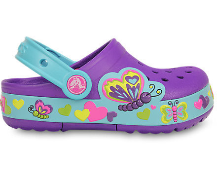 CHILDREN'S SHOES Crocs 15685 NEON PURPLE