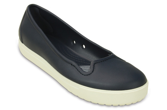 WOMEN'S SHOES CROCS CITILANE FLAT 202923 NAVY