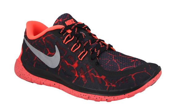 WOMEN'S SHOES  NIKE FREE 5.0 LAVA (GS) 807593 006