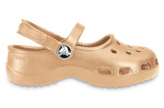 WOMEN'S SHOES SANDALS CROCS MARY JANE 10034 GOLD