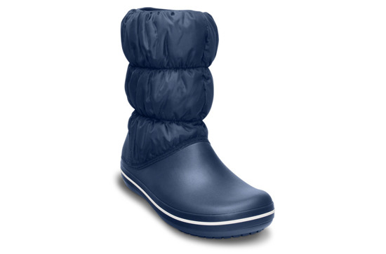 WOMEN'S SHOES SNOW BOOTS CROCS WINTER PUFF 14614 NAVY