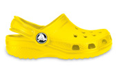 CROCS SHOES FLIP-FLOPS CLASSIC KIDS 10006 YELLOW