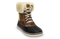 WOMEN'S SHOES  SNOW BOOTS CROCS CAST LUXE DUCK 12812 HEAZELNUT