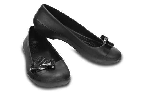 DAMEN SCHUHE BALLERINA CROCS GIANNA SIMPLE 200871 BLACK