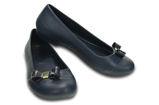 DAMEN SCHUHE BALLERINA CROCS GIANNA SIMPLE 200871 NAVY