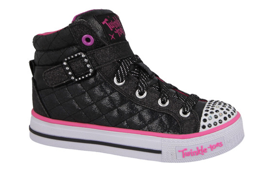 KINDER SCHUHE SKECHERS SWEET HEART 10573L BKMT