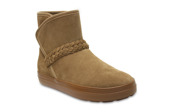 CROCS LODGE SUEDE 204798 HAZELNUT