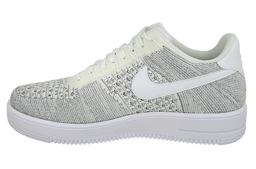 nike air force 1 low szare/białe