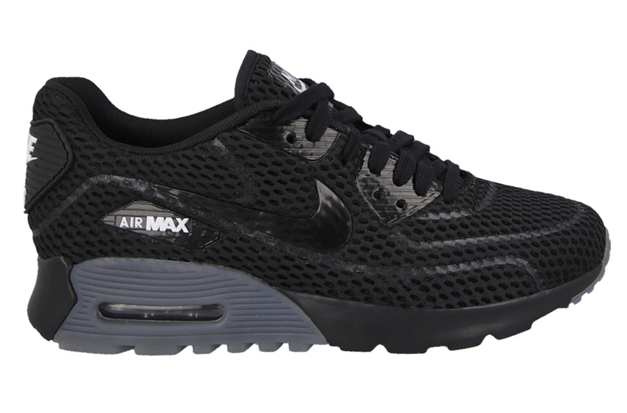 Sneakers buty Nike WMNS Air Max 90 Ultra BR black black white (725061 002)