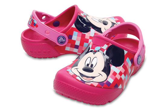 BUTY CROCS MICKEY CLOG 204708 CANDY PINK
