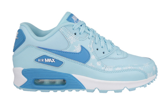 BUTY NIKE AIR MAX 90 PREMIUM LEATHER GS 724871 400